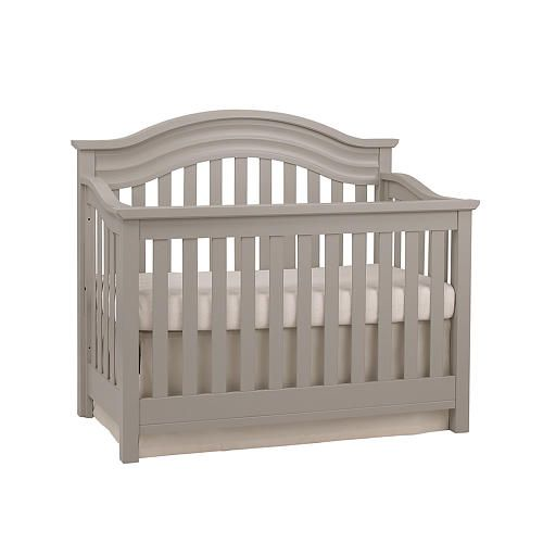 Baby Cache Riverside Lifetime Convertible Crib Dove Gray
