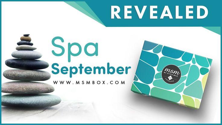 Spa September Revealed | September MSM Express Box