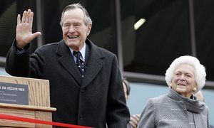 Top Latest hot news trend: Former President George HW Bush and wife Barbara h...