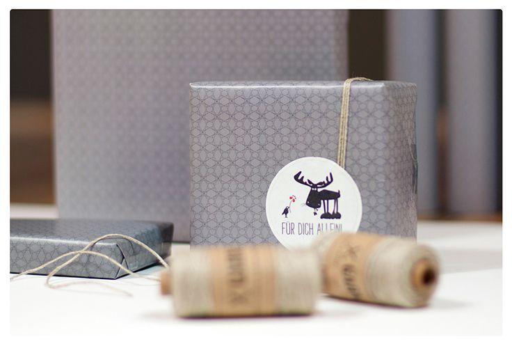 Jedes Geschenk verdient auch eine hübsche Verpackung. #Geschenkpapier