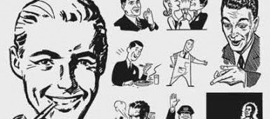 Free retro vectors. victorian 30' 40's 50's 60's 70's 80's