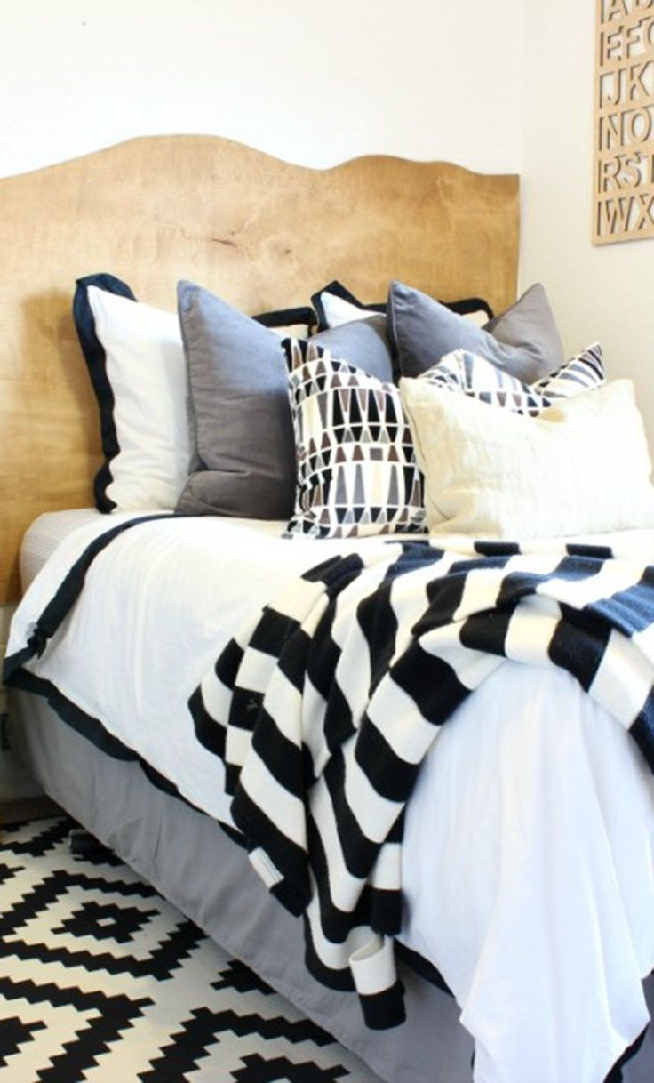 107 best as seen in bedroom inspiration and bedroom ideas images we love classy clutter s beautiful combination of neutral patterns in her son s bedroom featuring our linden