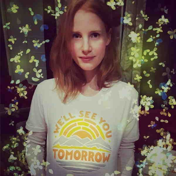 """I'm inspired by people who are so sensitive and vulnerable that they try to cover it up."" Jessica Chastain"