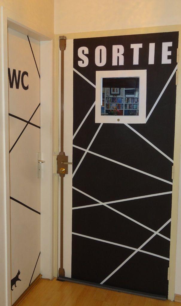 25 best ideas about stickers porte on pinterest - Changer une porte de chambre ...