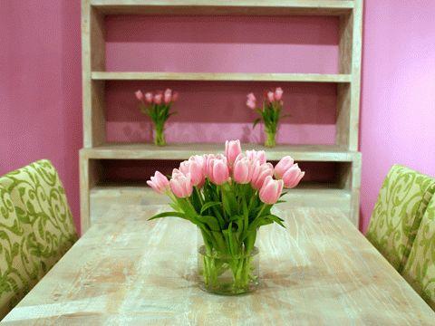 interiør rosa