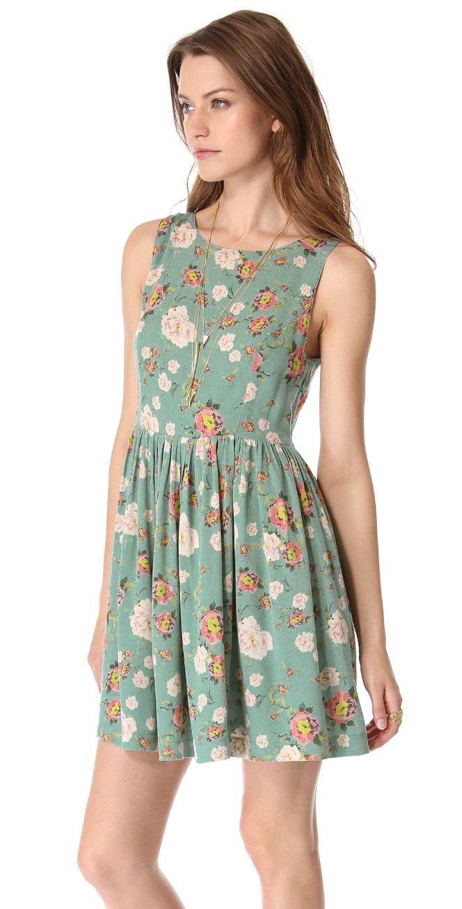 MINKPINK Notebook Dress   SHOPBOP