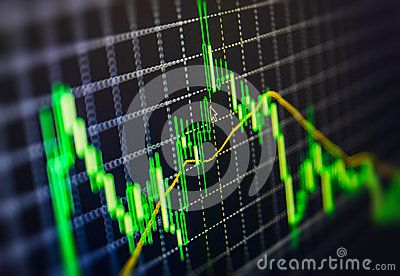 Display Of Stock Market Quotes Chart Graph On Monitor Live Online Screen. Profit, Capital Growth And Financial Success Concept. - Download From Over 39 Million High Quality Stock Photos, Images, Vectors. Sign up for FREE today. Image: 44296350