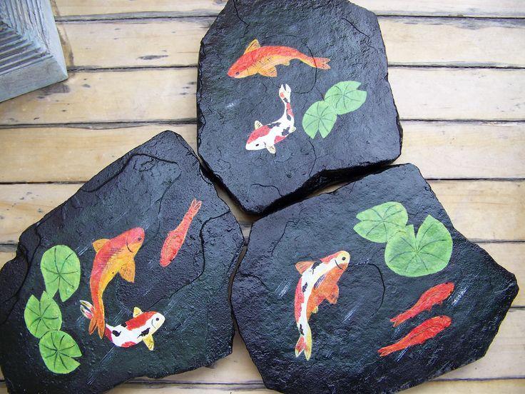 Koi Stepping Stones