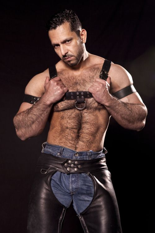 gym men at play leather was sheet spread