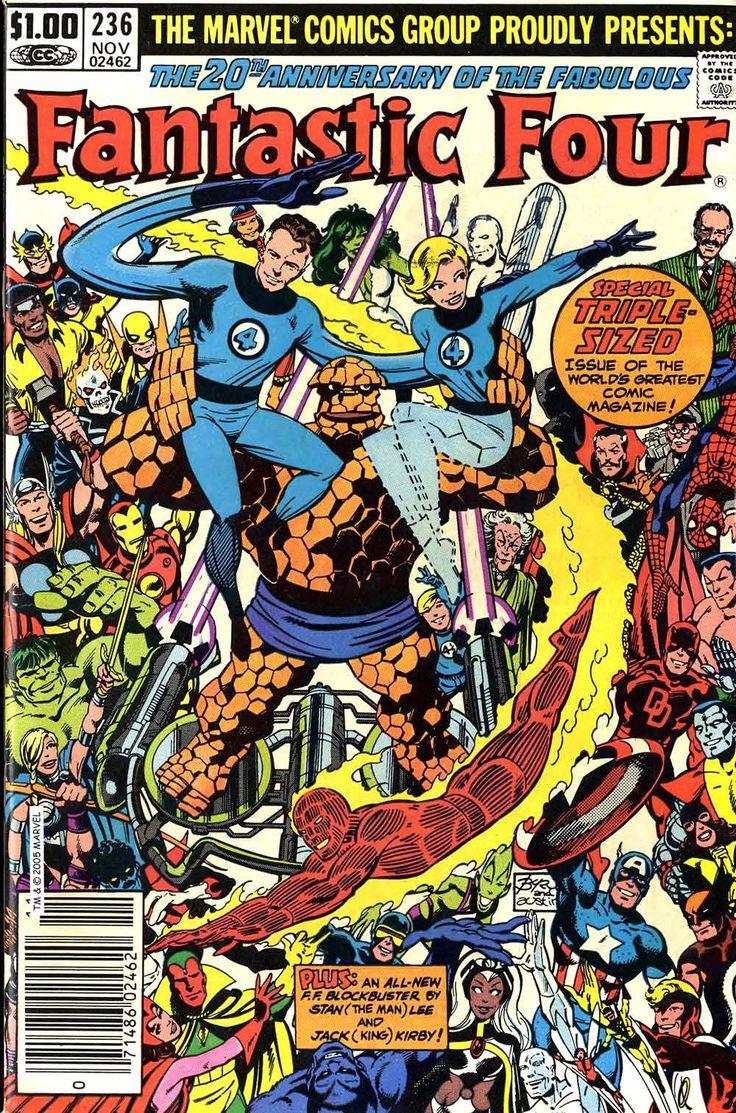 Fantastic Four, John Byrne, highlight, anniversary issue, Dr. Doom