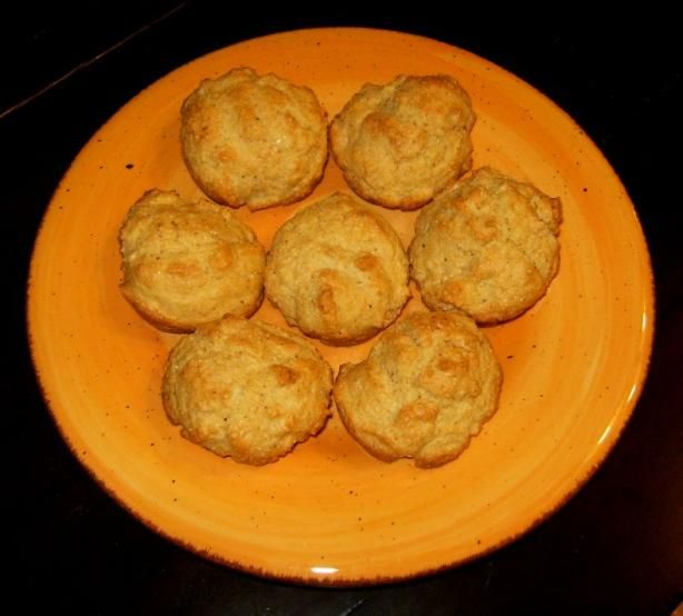 The Deen Brothers  Baked Hush Puppies from Food.com:   								From The Food Network magazine, November 2009. The Deen Brothers.
