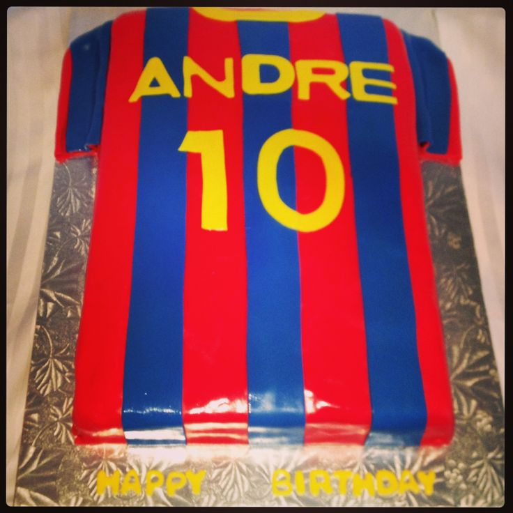 Messi Birthday Cake Ideas