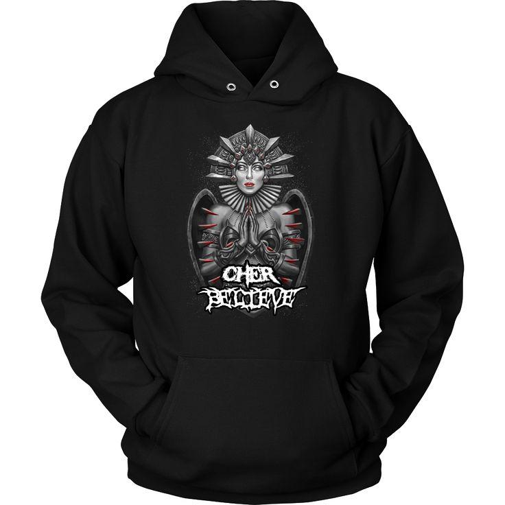 Cher - Believe metal hoodie USD 19.99 We ship worldwide! -------------------- metal head, black metal, pop music, fashion, clothing