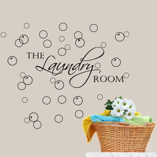 Best  Laundry Room Decals Ideas On Pinterest Laundry Quotes - Custom vinyl wall decals sayings for laundry room