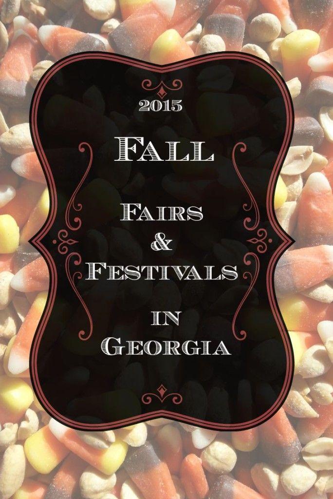 2015 Fall Fairs and Festivals in GeorgiaPin