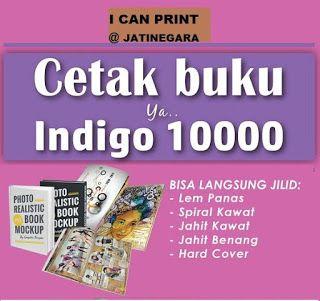 I Can Print ( ICP ) Jatinegara: CETAK BUKU di Mesin Digital  TERMURAH