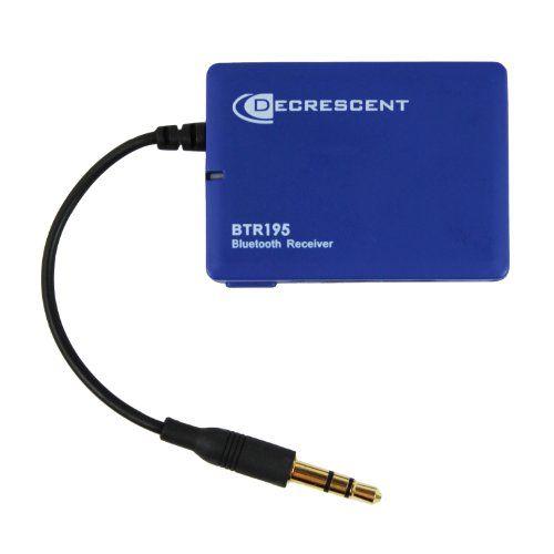 Decrescent BTR195 Receptor Bluetooth de Música y Audio con Conector Jack 3,5 mm para Sistemas de Alta Fidelidad en el Hogar y Altavoces Estéreo para el Coche B00A25WBLO - http://www.comprartabletas.es/decrescent-btr195-receptor-bluetooth-de-musica-y-audio-con-conector-jack-35-mm-para-sistemas-de-alta-fidelidad-en-el-hogar-y-altavoces-estereo-para-el-coche-b00a25wblo.html