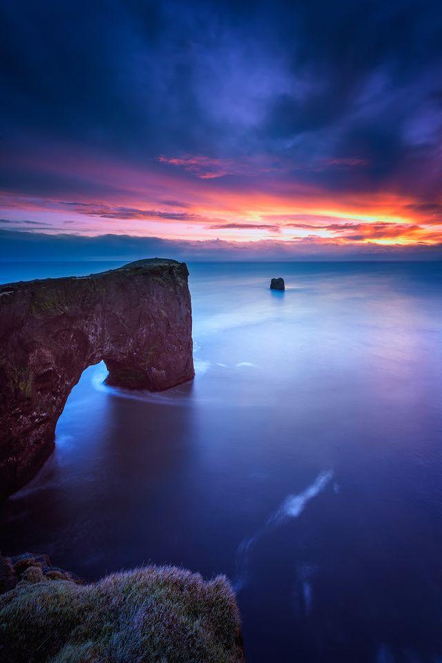 Paisaje marino, Islandia