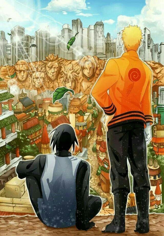 Naruto and Sasuke || Boruto: Naruto Next Generations