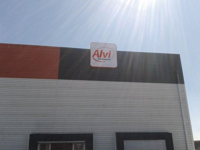 Instalación Supermercado Alvi