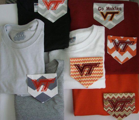 VT Pocket T Shirts - Long Sleeves
