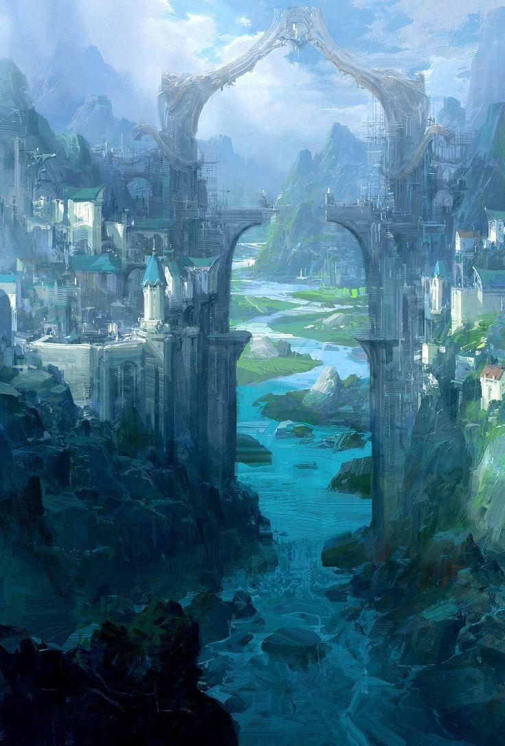 Epic Fantasy Landscapes Fantasy Art Landscapes Fantasy Landscape Fantasy Concept Art