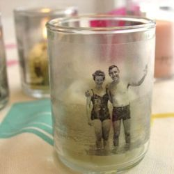 Photo transfer projects are so cool! Here are 21 Fabulous Photo Transfer Ideas. (image via Inspired Ideas)