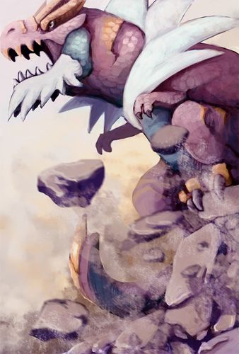 The king of ancient pokemon: Tyrantrum!