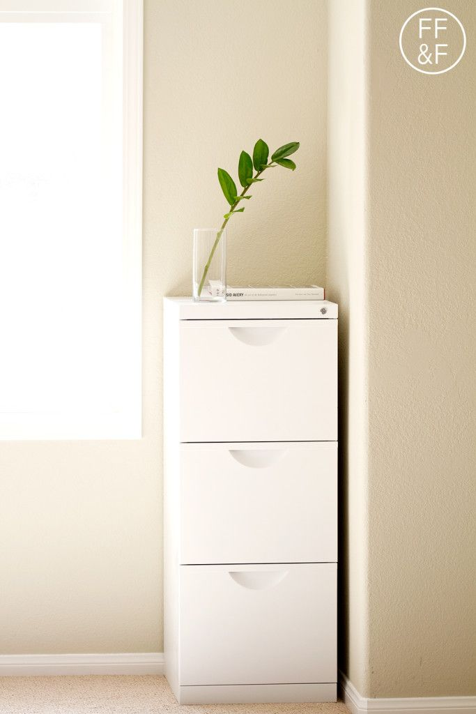 Ikea Erik File Cabinet Makeover Home Filing Office