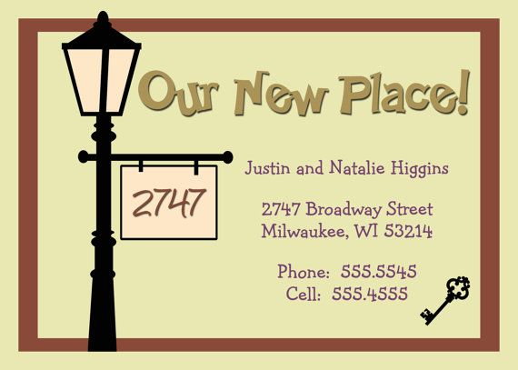 The 25+ best New address cards ideas on Pinterest Change of - printable change of address form