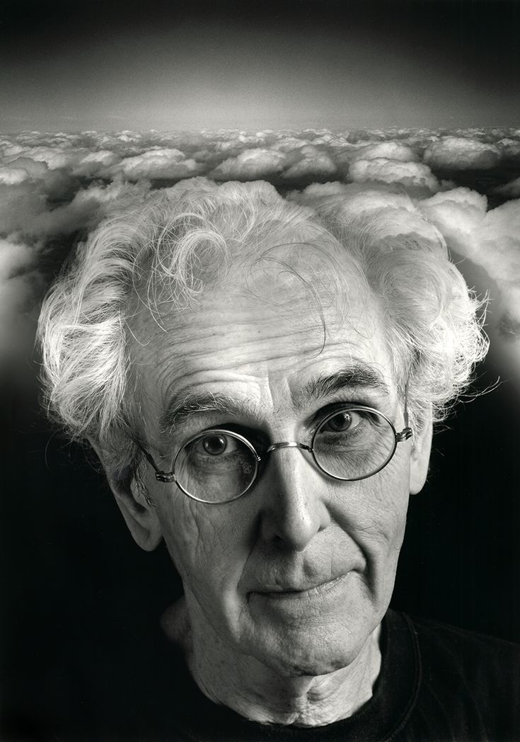 Jerry Uelsmann  Self Portrait at 70 with my Head in the Clouds, 2004