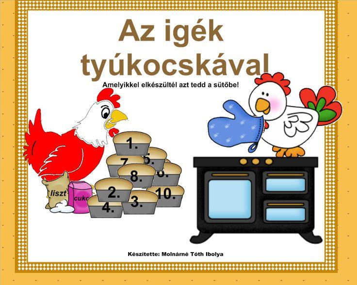 Magyar nyelv, igék 3-4. osztály