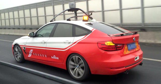 China's Baidu is setting optimistic goals to get its autonomous vehicles on the…