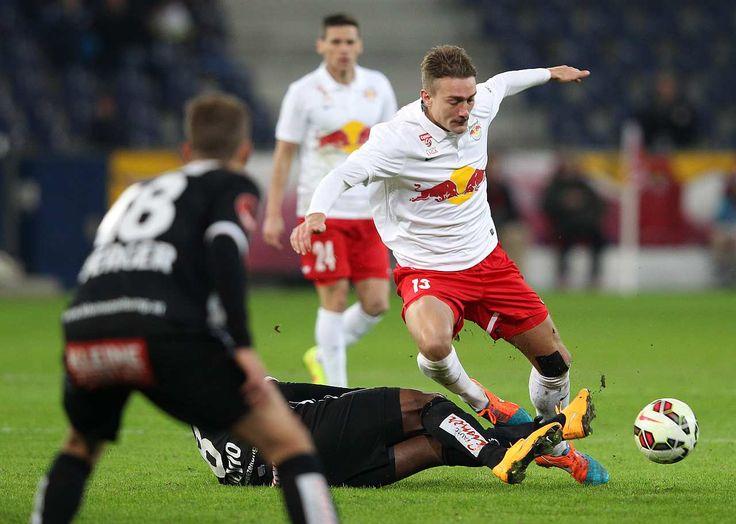"""Der FC Red Bull Salzburg geht im Lavanttal auf """"Wolfsjagd""""."""