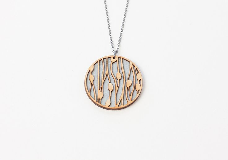 cattail 1 necklace