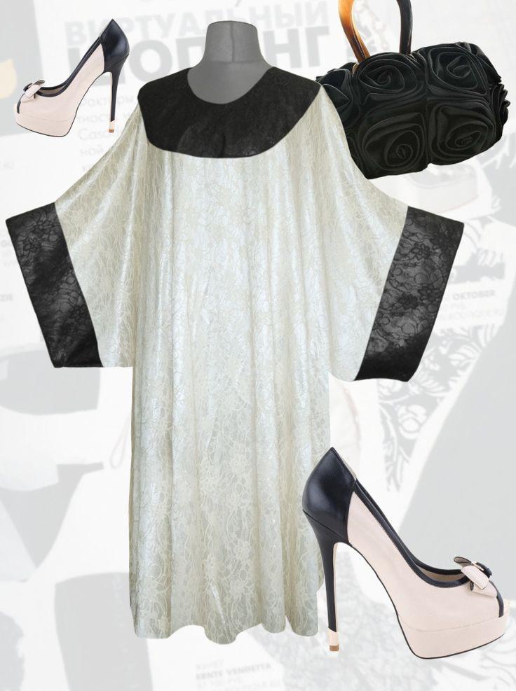 39$ Нарядное платье свободного покроя для полных женщин с ажурным рисунком Артикул 795,р50-64 Платья больших размеров  Платья свободного кроя больших размеров Платья макси больших размеров  Длинные платья больших размеров  Платья свободные больших размеров  Платья нарядные больших размеров  Платья весна больших размеров  Платья осень больших размеров  Дизайнерские платья больших размеров Красивые платья больших размеров  Модные платья больших размеров