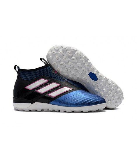 Adidas ACE Tango 17 Purecontrol Turf czarny niebieski biały różowy mężczyźni buty piłkarskie