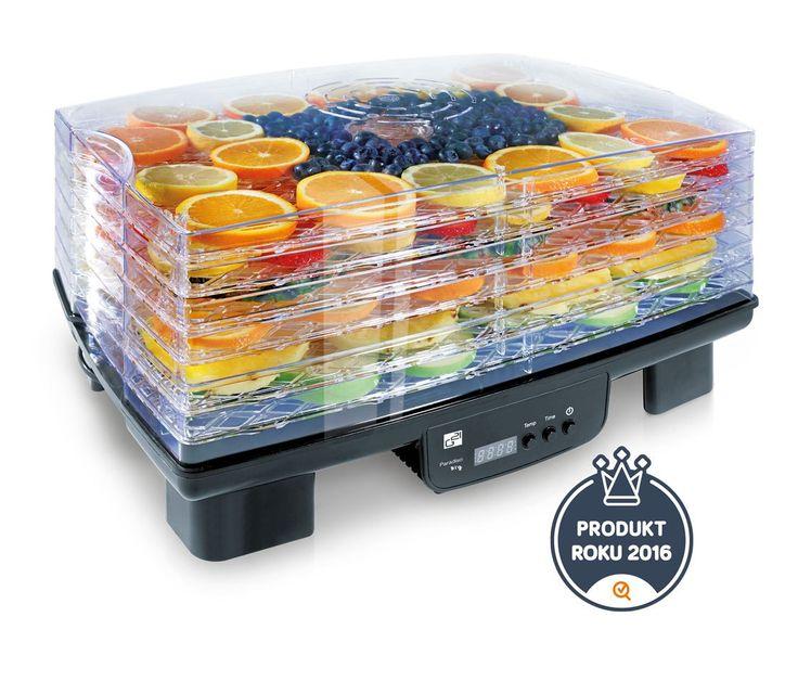 Sušička ovoce G21 Paradiso Big Vám garantuje rychlé a stejnoměrné sušení všech kousků potravin. K sušení používejte suroviny v co nejlepší kvalitě.