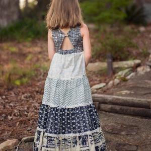 Hourglass Dress girls' summer dress PDF pattern   Etsy Toddler Maxi Dresses, Girls Maxi Dresses, Toddler Dress, Toddler Girl, Baby Girls, Baby Frocks Designs, Kids Frocks Design, Little Girl Dress Patterns, Little Girl Dresses