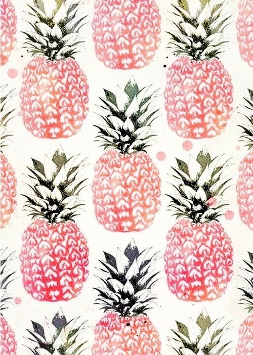 Pineapple paper - for walls or gifts.