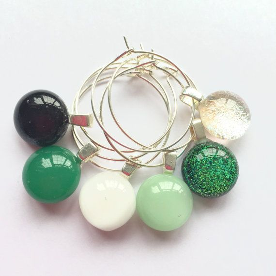 Hey, I found this really awesome Etsy listing at https://www.etsy.com/uk/listing/479223599/glass-charms-green-tableware-green-wine