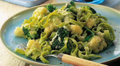 Tagliatelle alle verdure - La ricetta di Buonissimo