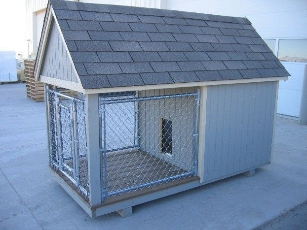 Dog Kennel Cage Kit 4 x 8 Large House  #LittleCottageCo
