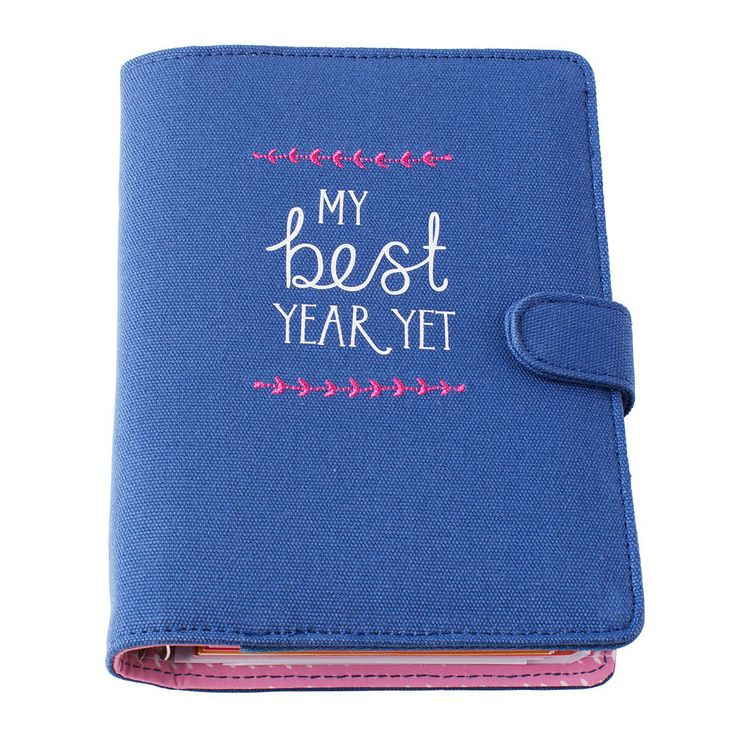 Be inspired to make 2014 your year in organised style with this beautiful Inspire Time Planner. #2014 #Inspire #TimePlanner