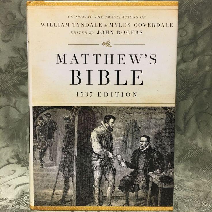 Matthew's Bible - 1537 Reproduction (Hardback)