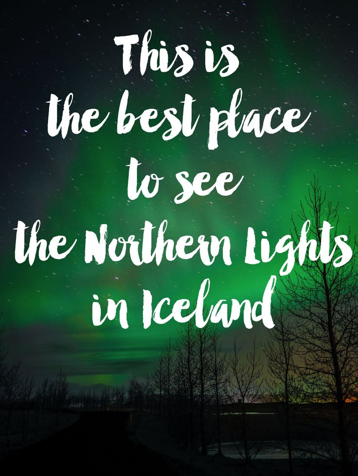 This Is The Best Place To See The Northern Lights In Iceland! - Hand Luggage Only - Travel, Food & Home Blog