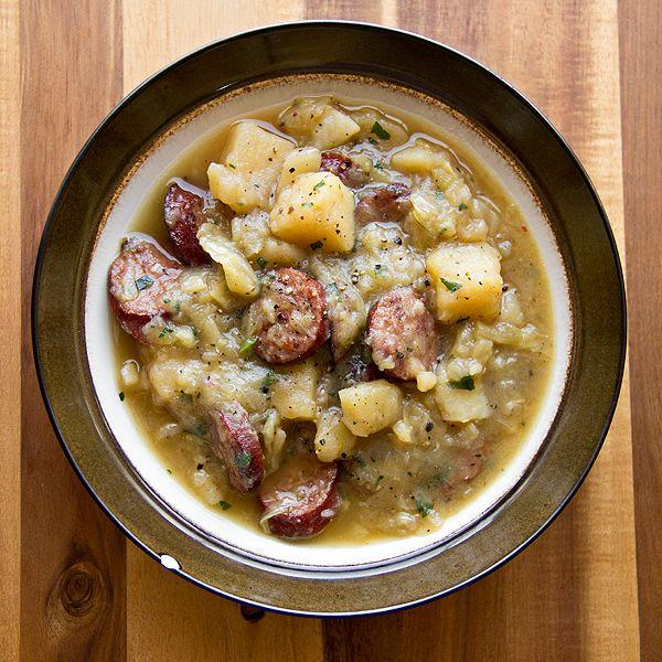 German Oktoberfest stew