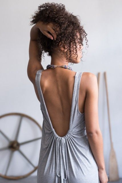 kleid maya grey kleider rueckenfreies kleid maya