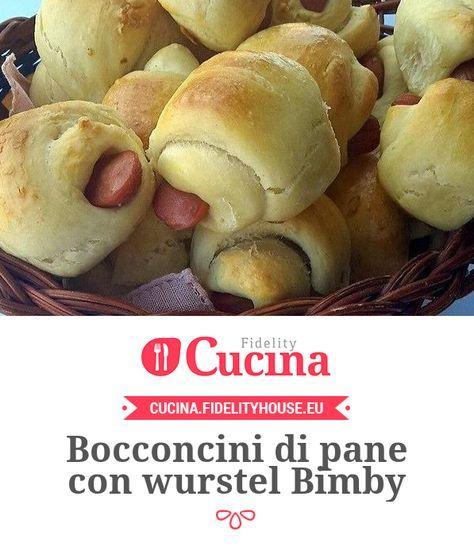 Bocconcini di pane con wurstel Bimby