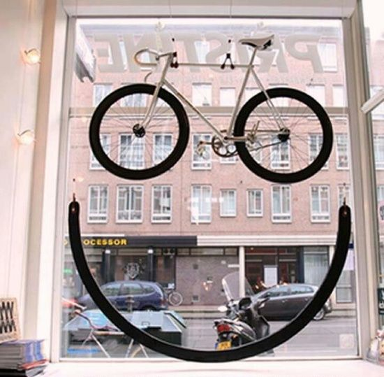 """""""SMILE....the weekend is here.....let's go for a bicycle ride.....just the two of us"""", pinned by Ton van der Veer"""